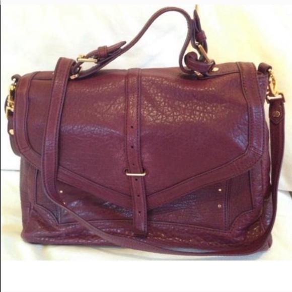 Tory Burch Handbags - Tory Burch 797 large plum satchel